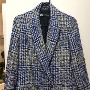 Zara Jackets & Coats - Zara textured coat